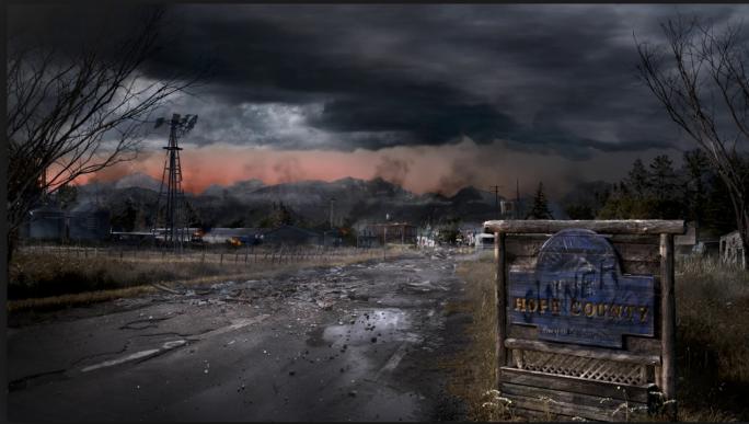 Hope County nuked