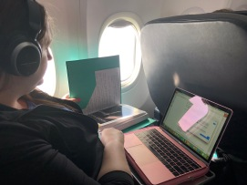My wife is working on her Master's degree - what a dedicated student