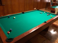 Some billiards in Mexico - sure, why not?