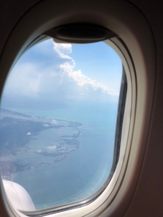 Saying goodbye to the coast of Mexico